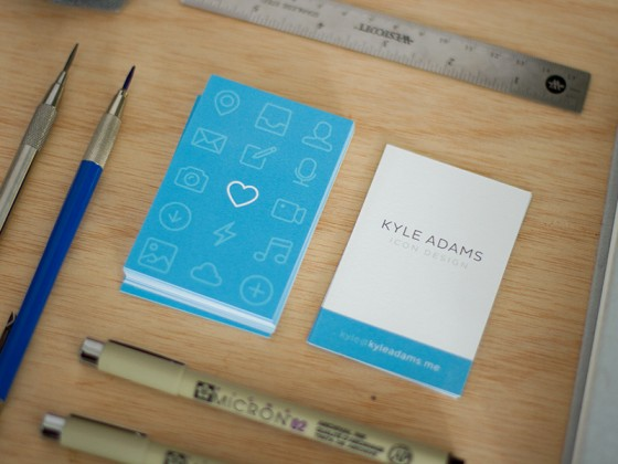Kyle Adams business card