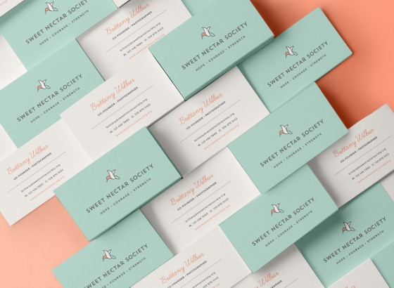 Sweet Nectar Business Cards