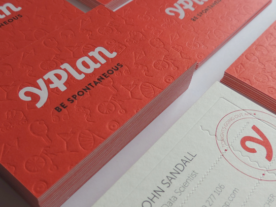 YPlan business card