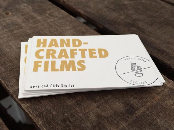 Boys and Girls Stories business card