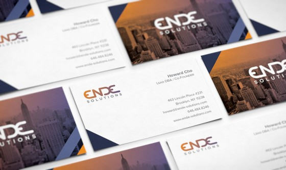 EnDe business cards