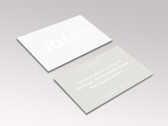 JO&SO Business Cards