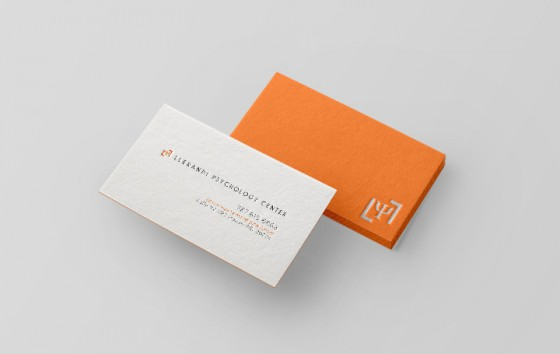 Llerandi Psychology Center business card