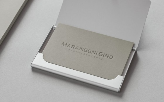 Marangoni Gino business cards