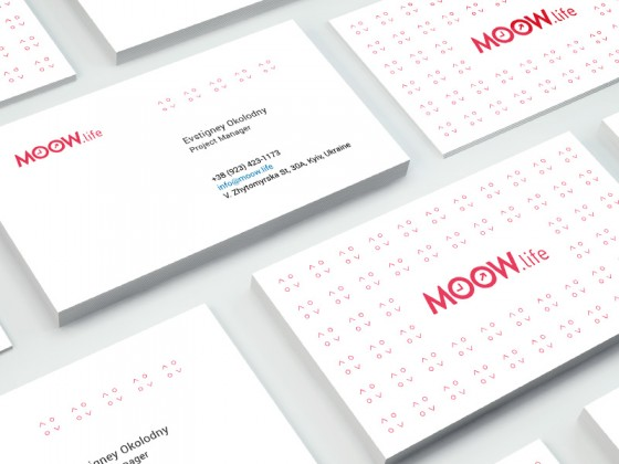 Moow.life business cards