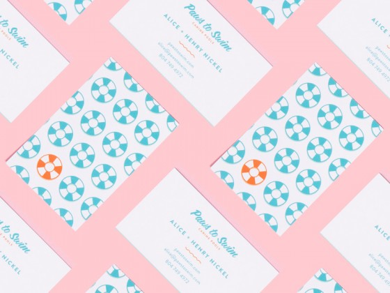 Paws To Swim business card