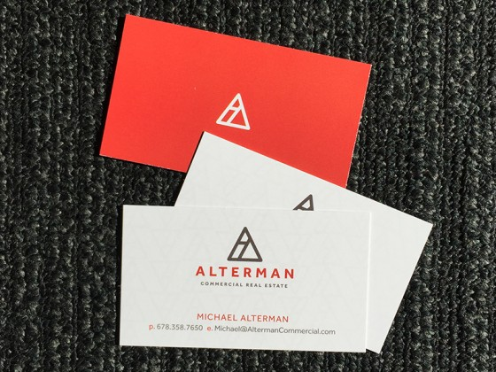 Alterman Business Cards