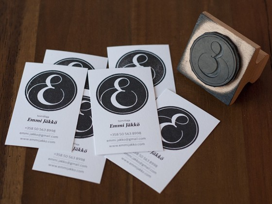 Emmi Jäkkö business cards