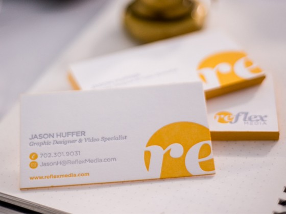 Jason Huffer business card