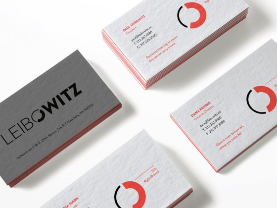Leibowitz business cards