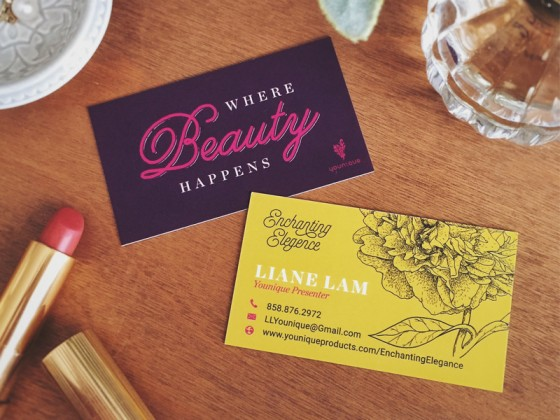 Enchanting Elegence business card