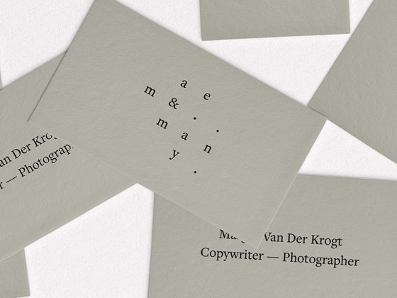 Margot van der Krogt business card