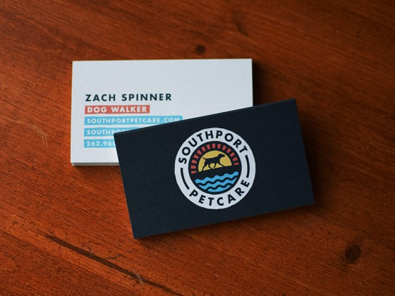 Southport Petcare Business Cards
