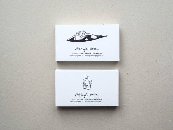 Ashleigh Green business card