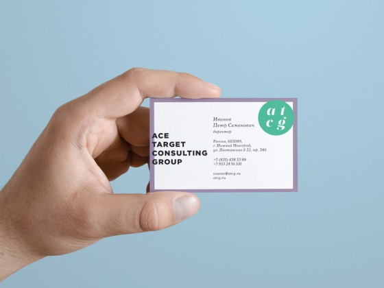 ATCG business card