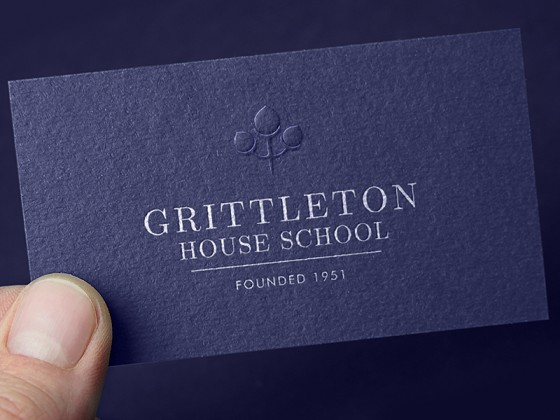 Grittleton House School business card