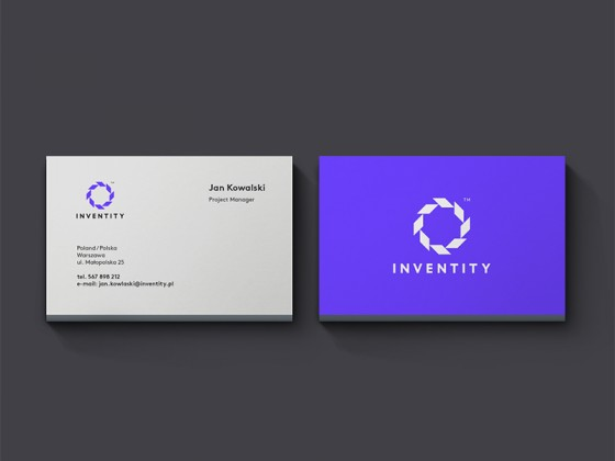 Inventity business card