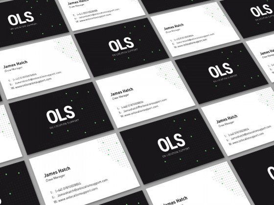 OLS business cards