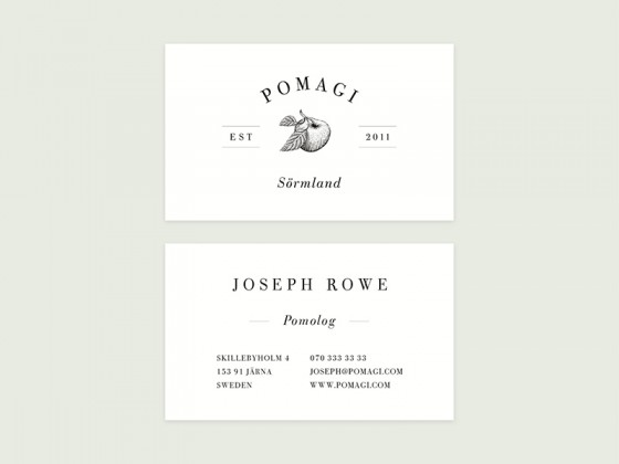 Pomagi business card