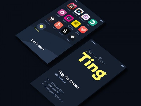 Ting business card