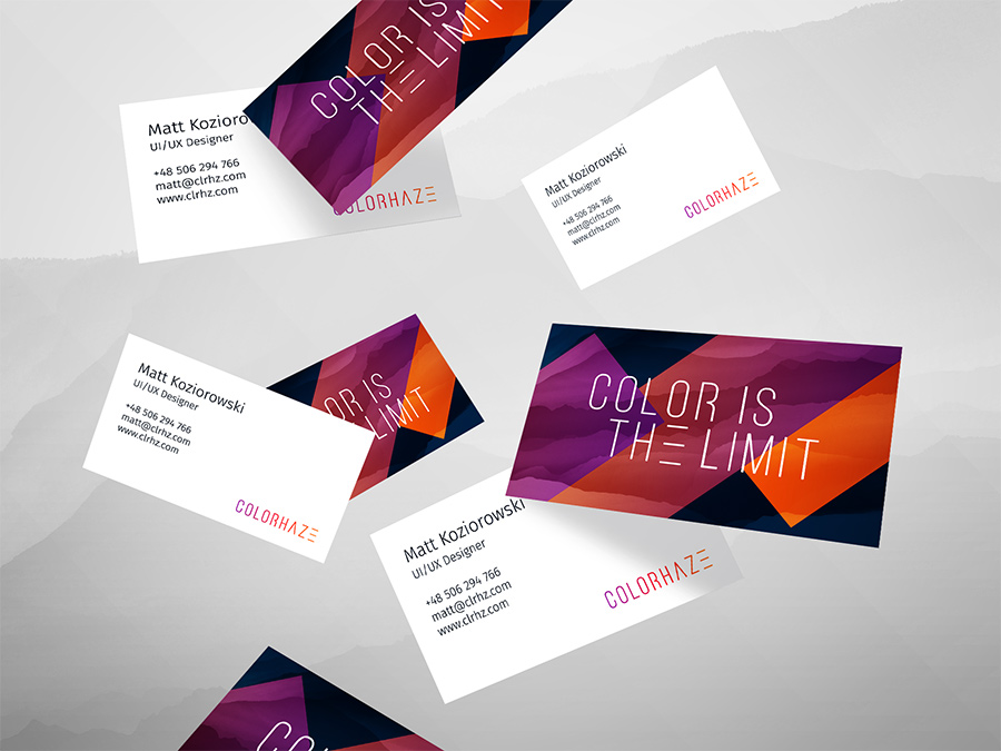 ux business card