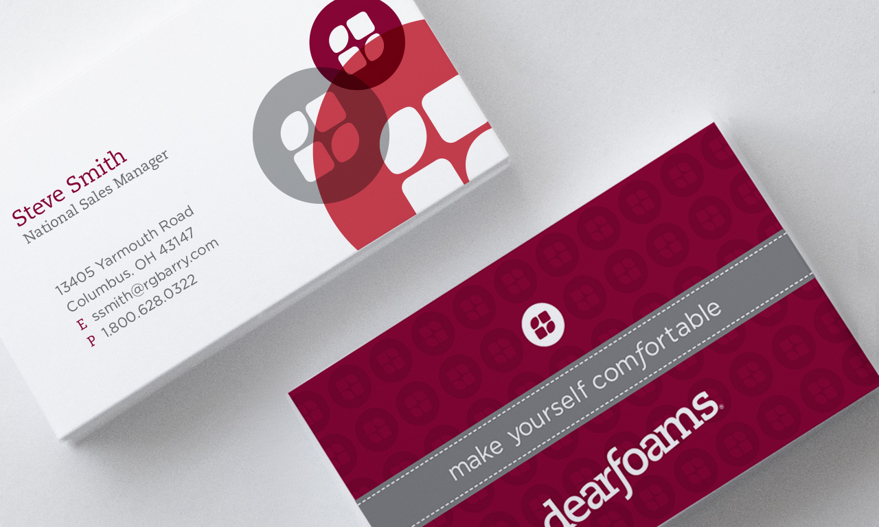 dear foams business cards inspiration cardfaves