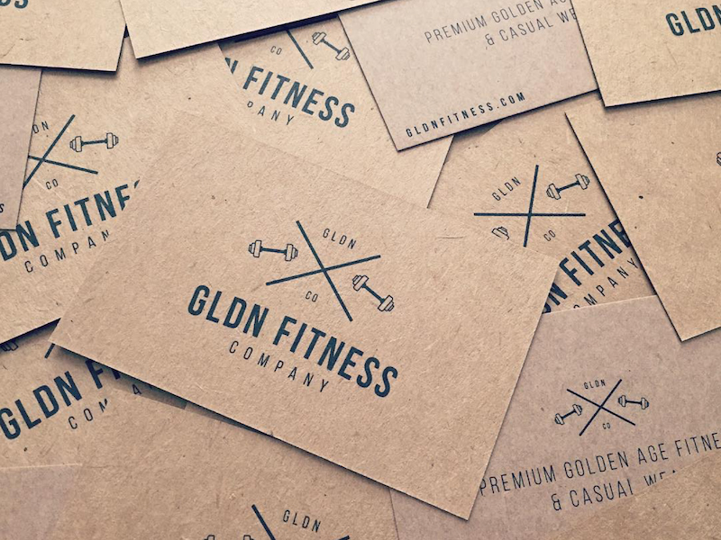 Gldn fitness business cards inspiration cardfaves fitness business card colourmoves
