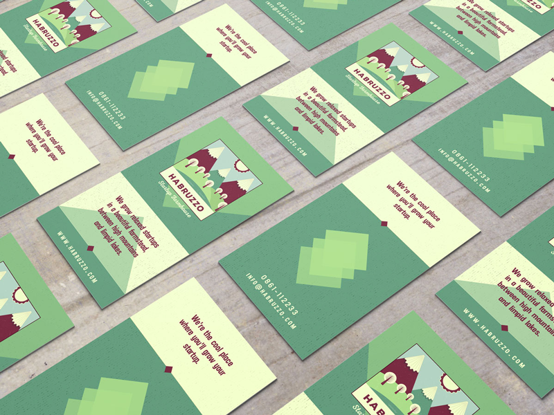 Habruzzo business cards inspiration - CardFaves