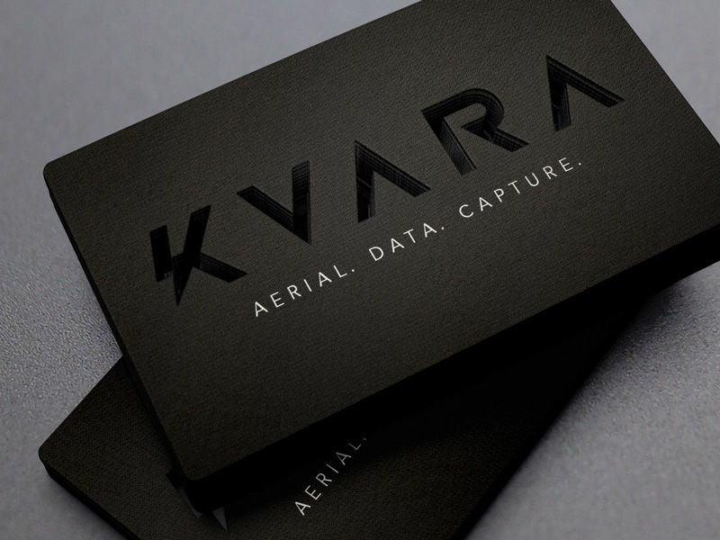 KVARA business card inspiration - CardFaves