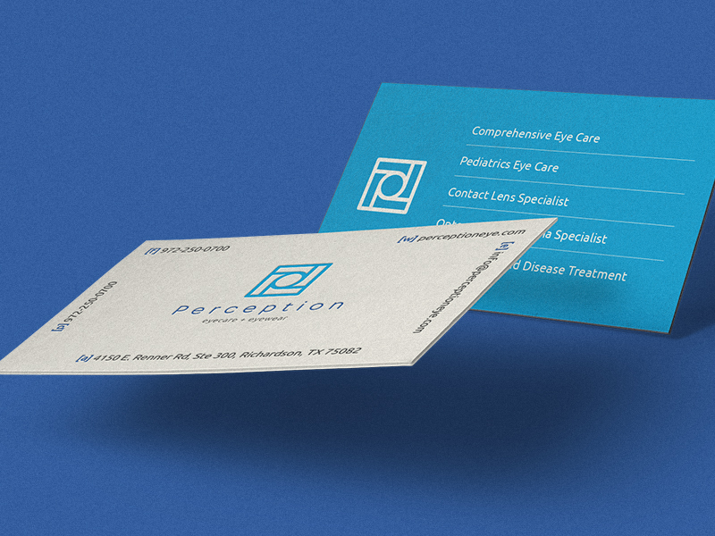 Perception business card inspiration - CardFaves