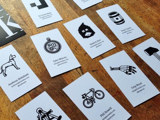 Fictive Kin business cards