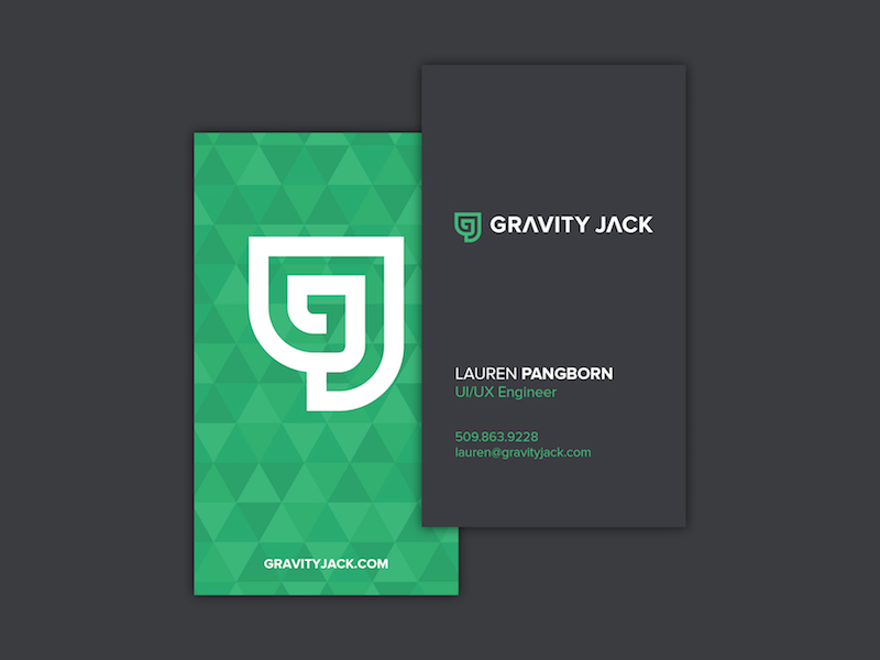 Gravity jack business card inspiration cardfaves reheart Images