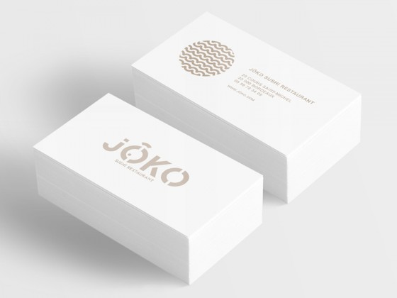 Jōko business cards
