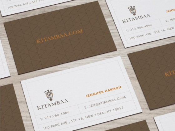 Kitambaa business cards