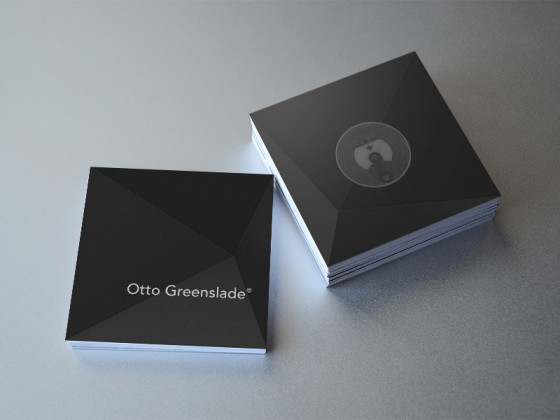 Otto Greenslade Business Card