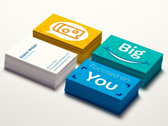 Wolpe Photography business cards