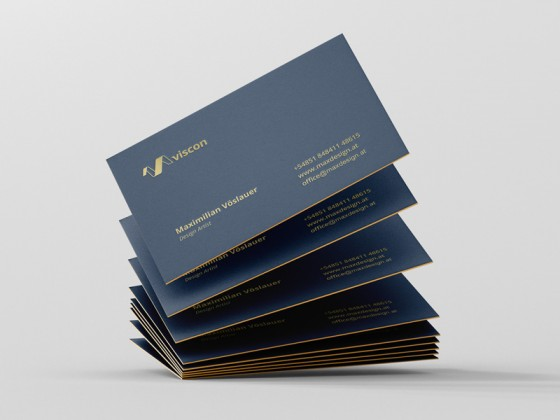 Viscon Design business cards