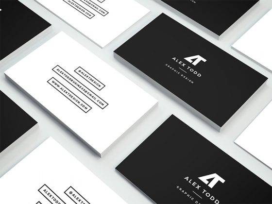 Alex Todd personal business card