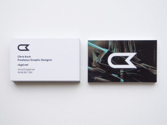Chris Koch business cards