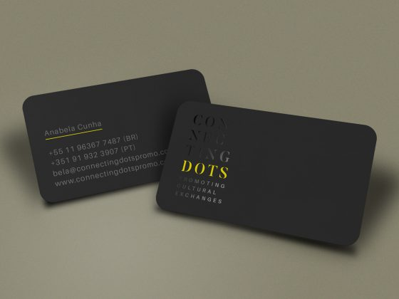 Connecting Dots business card