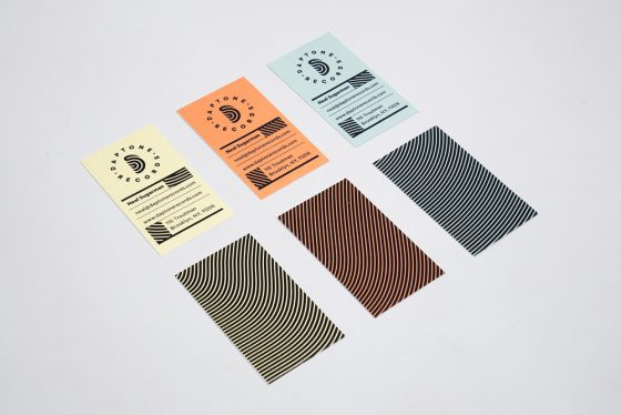 Daptone Records business card
