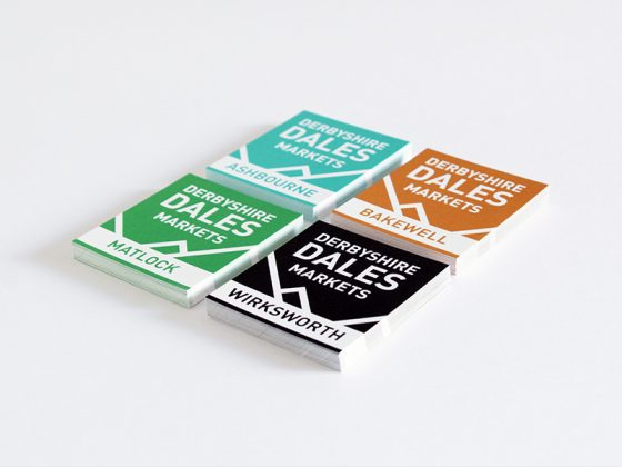 Derbyshire Dales business card