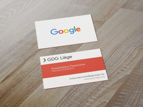 Google developers group cards
