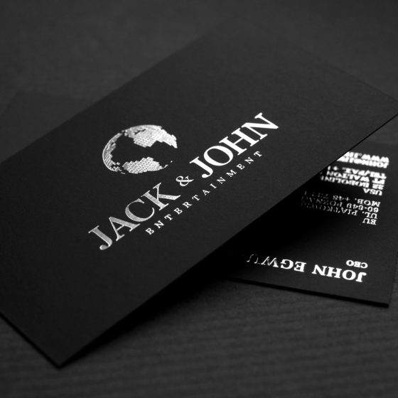 Jack & John business card