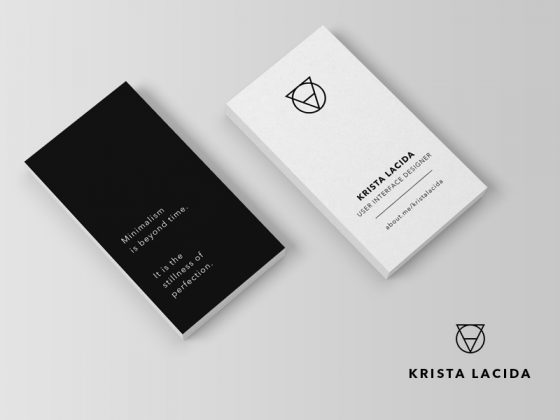 Krista Lacida business card