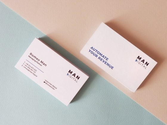 MAN Digital business card