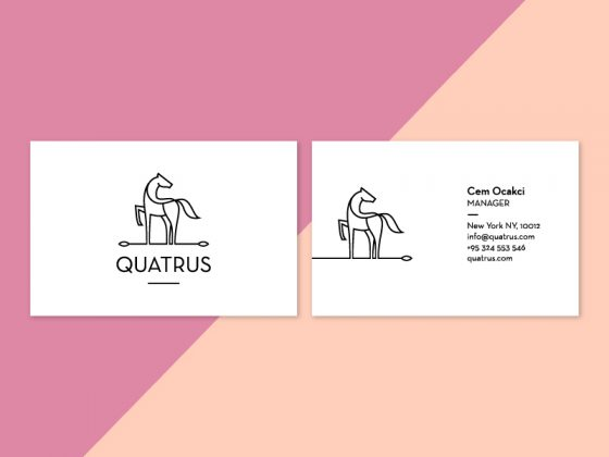 Quatrus business card