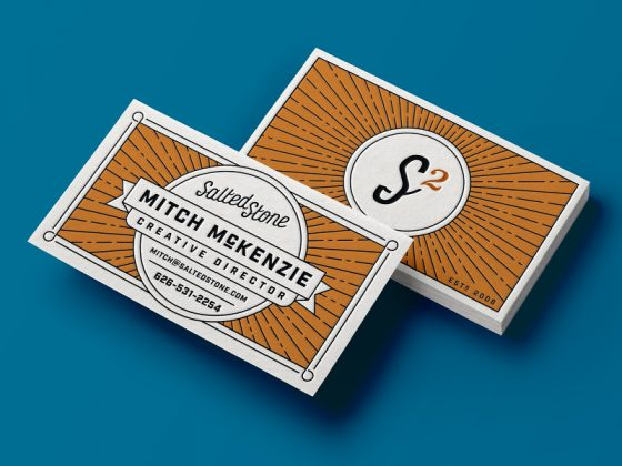 Salted Stone business cards
