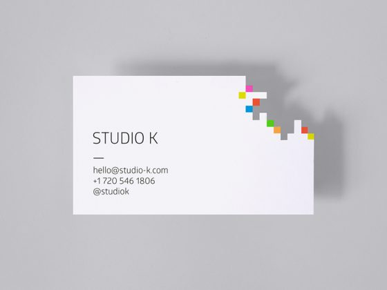 Studio K business card
