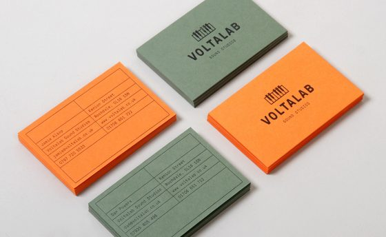 Voltalab business cards